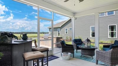 Chesapeake Homes -  The Seashore Multi-Gen Rear Covered Porch