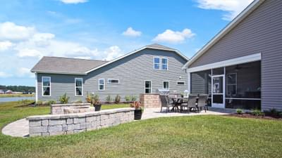 Chesapeake Homes -  The Seashore Multi-Gen Patio