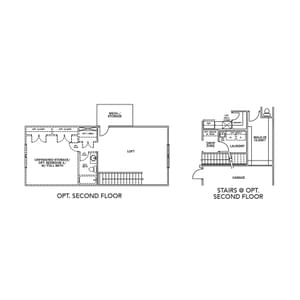 Chesapeake Homes -  The Shorebreak Optional Second Floor