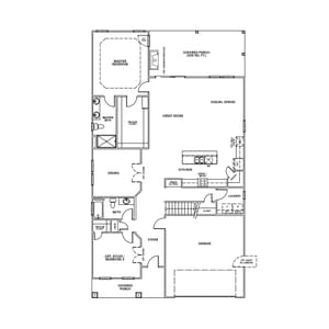 Chesapeake Homes -  The Driftwood First Level