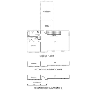 Chesapeake Homes -  The Driftwood Second Level