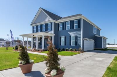 Chesapeake Homes -  The Azalea Exterior