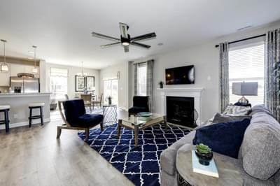 Chesapeake Homes -  The Azalea Great Room