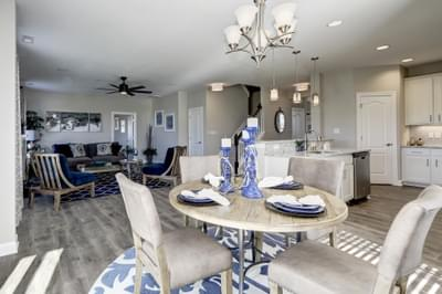 Chesapeake Homes -  The Azalea Breakfast Area