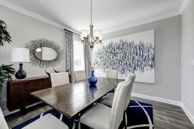 Chesapeake Homes -  The Azalea Dining Room