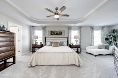 Chesapeake Homes -  The Azalea Owner's Suite