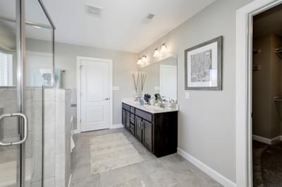 Chesapeake Homes -  The Azalea Owner's Bath