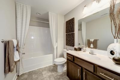 Chesapeake Homes -  The Azalea Second Upstairs Hall Bath