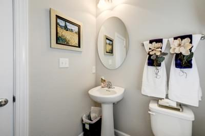 Chesapeake Homes -  The Azalea Powder Room