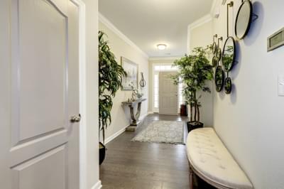 Chesapeake Homes -  The Everest Foyer
