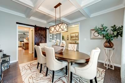 Chesapeake Homes -  The Everest Dining Room