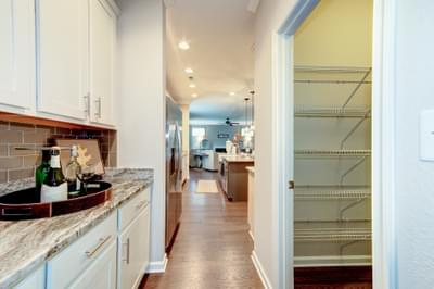 Chesapeake Homes -  The Everest Butler's Pantry & Pantry