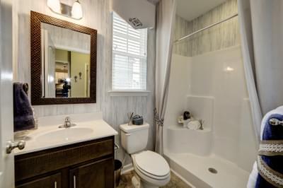 Chesapeake Homes -  The Everest Full Downstairs Bathroom