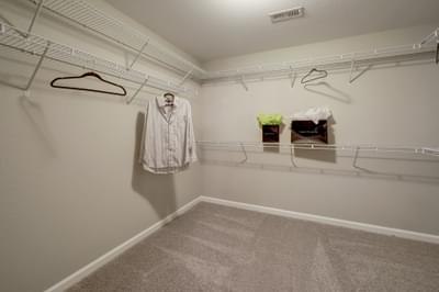 Chesapeake Homes -  The Everest Second Owner's Closet