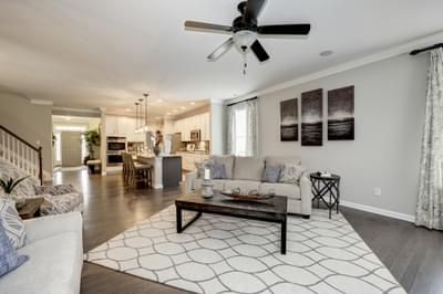 Chesapeake Homes -  The Everest Great Room