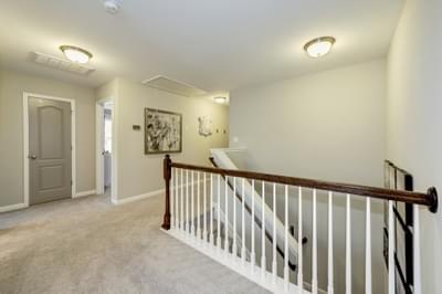 Chesapeake Homes -  The Everest Upstairs Hallway