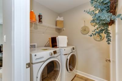 Chesapeake Homes -  140 Preserve Way, Suffolk, VA 23434 Laundry Room