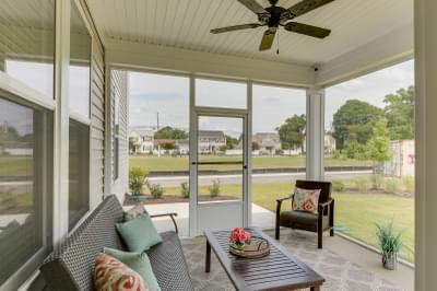 Chesapeake Homes -  140 Preserve Way, Suffolk, VA 23434 Rear Covered Porch