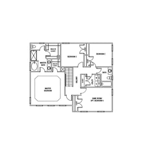 Chesapeake Homes -  The Hawthorn Second Floor