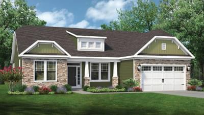 Chesapeake Homes -  The Marigold Elevation A
