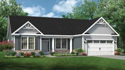 Chesapeake Homes -  The Marigold Elevation C