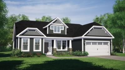 Chesapeake Homes -  The Marigold Elevation E
