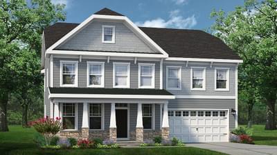 Chesapeake Homes -  The Azalea Elevation A