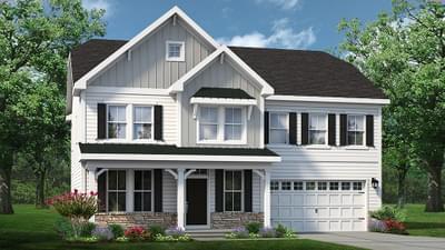 Chesapeake Homes -  The Azalea Elevation D
