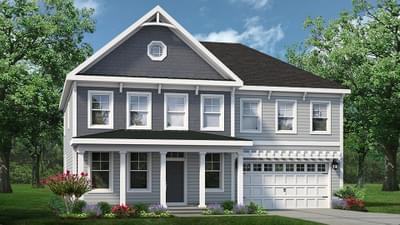 Chesapeake Homes -  The Azalea Elevation E