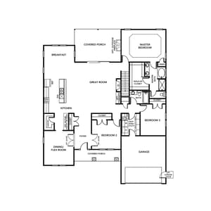 Chesapeake Homes -  The Marigold First Floor