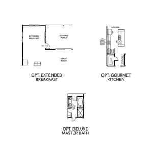 Chesapeake Homes -  The Marigold Options