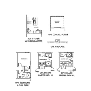 Chesapeake Homes -  The Ivy Options