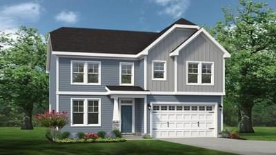 Chesapeake Homes -  The Ivy Elevation A
