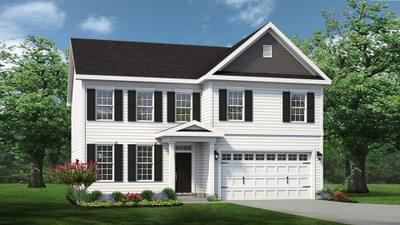 Chesapeake Homes -  The Ivy Elevation C