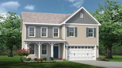 Chesapeake Homes -  The Ivy Elevation F
