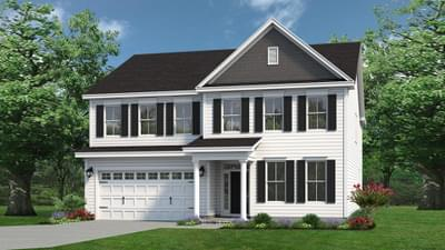 Chesapeake Homes -  The Everest Elevation B