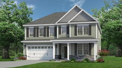 Chesapeake Homes -  The Everest Elevation C