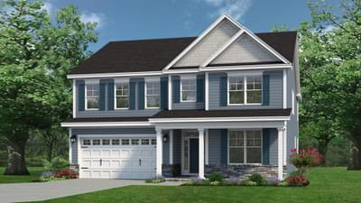 Chesapeake Homes -  The Everest Elevation D