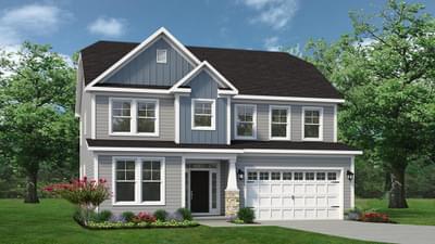 Chesapeake Homes -  The Hatteras Elevation N