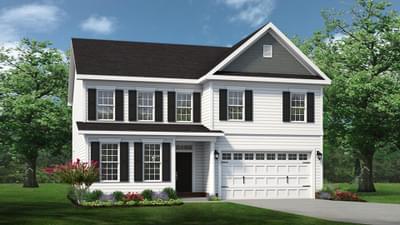 Chesapeake Homes -  The Ivy Elevation O