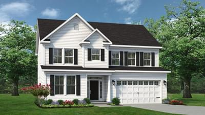 Chesapeake Homes -  The Hatteras Elevation O