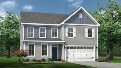 Chesapeake Homes -  The Ivy Elevation P