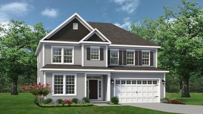 Chesapeake Homes -  The Hatteras Elevation P