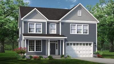 Chesapeake Homes -  The Sierra Elevation D
