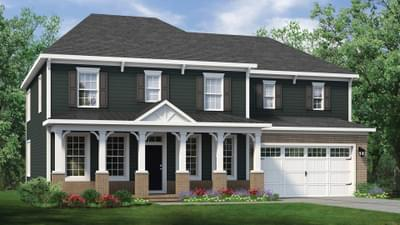 Chesapeake Homes -  The Roseleigh Elevation C