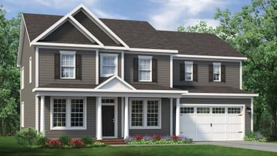 Chesapeake Homes -  The Roseleigh Elevation D