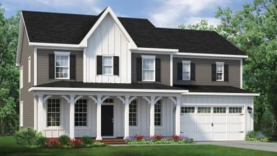 Chesapeake Homes -  The Roseleigh Elevation F