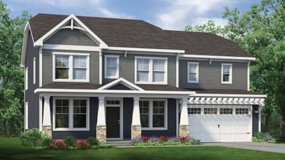 Chesapeake Homes -  The Roseleigh Elevation G