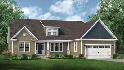Chesapeake Homes -  The Gardenia Elevation D