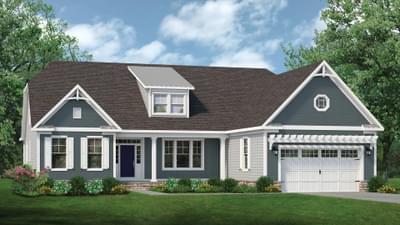 Chesapeake Homes -  The Gardenia Elevation E